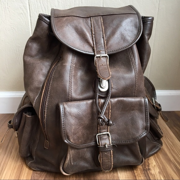 9dc946ce1cd5 Genuine Cowhide Leather Large Backpack. M 5b91ff4bf30369758c35e9ff